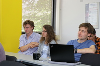 Discussion at MITP