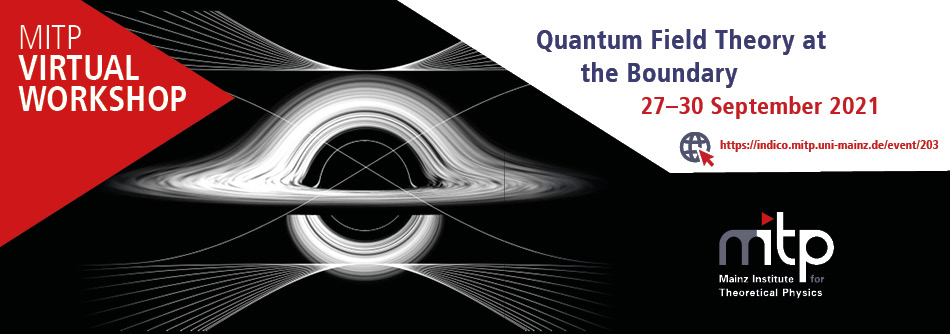 Quantum Field Theory at the Boundary